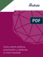 Guía sobre política, promoción y defensa a nivel mundial