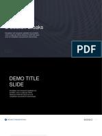 Business Presentation 4 - Template Powerpoint