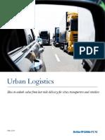 ADL Urban Logistics