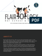 Flairology Bartending Institute in India