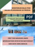 Balai Besar POM Jakarta - Dra.dewi Prawita,M.kes