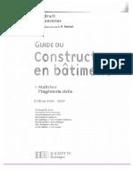 Guide Du Constructeur en Batiment