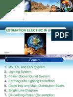 Estimation Electric in Buildings