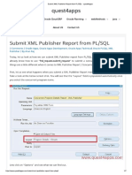 Submit XML Publisher Report From PLSQL