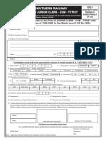 Gdce Jr Clerk Application