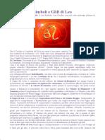 Simboli e Glifi Di Leo