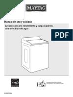 7MMVWB855EC Manual de Uso y Cuidado
