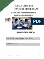 Bioestadistica Unidad 1 y 2