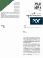 ILPES - Guía Para La Presentación de Proyectos