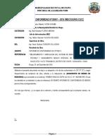 Informe de Conformidad Nº 004 Tejas