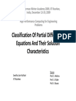 Classification PDEs 2-Kothari