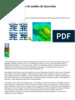 El Diseño Térmico de Moldes de Inyección