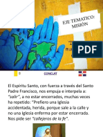 EJE TEMATICO, MISION