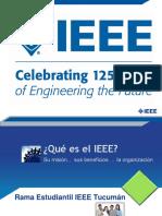 Que Es El IEEE - Rama Estudiantil IEEE Tucumán