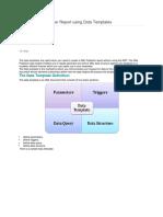 Create XML Publisher Report Using Data Templates