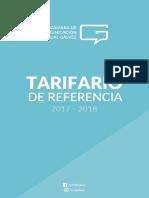 Tarifario de Referencia 2017-2018 - Cámara de Comunicación Visual Gálvez