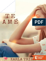Yo Si Te Ame - Karla Trier
