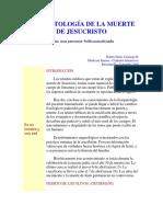 Fisiopatología de La Muerte de Jesucristo
