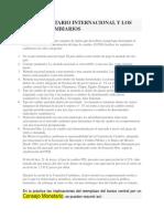 Sistema Monetario Internacional y Los Regímenes