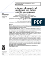 The Impact of Managerial Commitment and Kaizen Benefits on Companies (1)