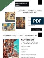 COMPARACIONES CULTURAS PREHISPANICAS