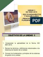 Unidad 3 Fund y Vocabulario 2016