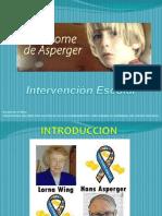 Intervencion Escolar de Asperger - Autismo alto Funcionamiento