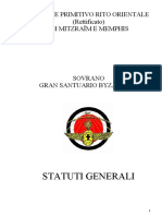 03. Estatuto Geral Para o Rito Italiano