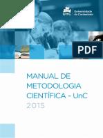 Manual de Metodologia Científica da Universidade do Contestado (2015)