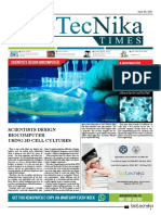 Biotecnika - Newspaper 3 April 2018