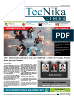 Biotecnika - Newspaper 19th Dec 2017