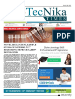 Biotecnika - Newspaper 13 March 2018
