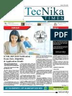 Biotecnika - Newspaper 27 March 2018