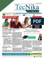 Biotecnika - Newspaper 20 February 2018