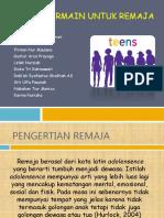 Terapi Bermain Untuk Remaja