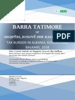 Barra Tatimore Në Shqipëri, Kosovë Dhe Ballkan 2018