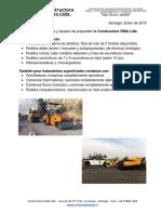 Presentación VIMA (Ene2018) - Obras y Equipos