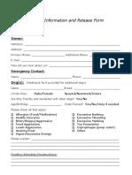 Updated TTT Release Form