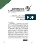 Una Lectura Latinoamericana de Los Conceptos Clásicos de La Teoría de Las RRII