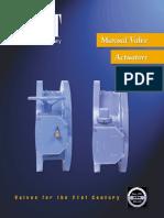 Manual Valve Actuators