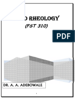 FOOD RHEOLOGY 455_FST 310  lecture note-DR ADEBOWALE.pdf