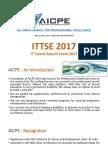 01 Aicpe - Ittse 2017