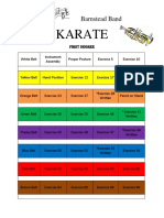 KARATE First Degree