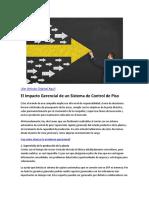 El Impacto Gerencial de un Sistema de Control de Piso