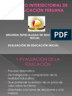 Ciep-evaluación de La Educacion Inicial