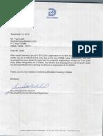 CHDO Letter - NBCDC