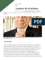 Entrevista Con Mario Vargas Llosa