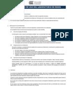 Reglamento de Uso Del Laboratorio de Cómputo