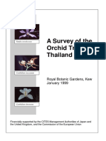 A Survey of the Orchid Trade in Thailand