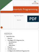 Java Fundamentals Programming CEC - Mayo - 2015